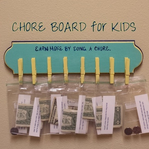 Chore Board for Kids